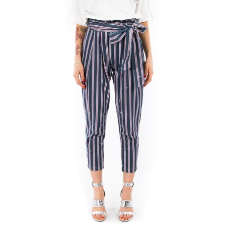 Ynot striped high-waisted...