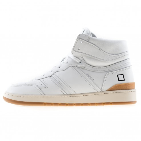 Date sneakers sport bianche